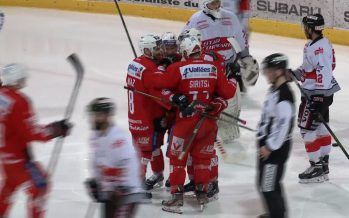 Hockey sur glace: le HC Sion débute la finale romande par une victoire