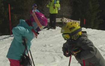 Ski: grande compétition de ski pour les jeunes à Nendaz