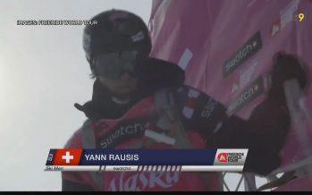 Freeride: Yann Rausis s'apprête à défier le Bec des Rosses