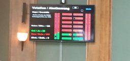 Non à l'ajournement de l'assermentation du Conseil d'Etat