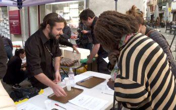 Agroalimentaire: des étudiants de la HES-SO Valais testent leurs produits au marché de Sion