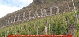 Gilliard: le nom de la cave effacé du mur en pierres sèches