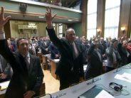 Session constitutive: journée émouvante pour les proches de Christophe Darbellay et Frédéric Favre