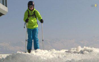 Zoom sur la fin de la saison d'hiver: en avril, on skie encore en Valais