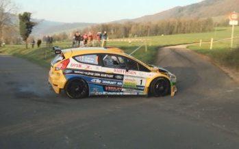 Rallye: huit sur huit pour Sébastien Carron qui remporte le Critérium Jurassien!
