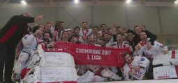 Hockey: le HC Sion bat Frauenfeld et devient champion de Suisse amateur