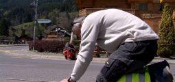 Champéry: coup d'œil sur les préparatifs du Tour de Romandie