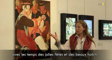 «La Mariée» d'Ernest Biéler, raconté en patois d'Evolène