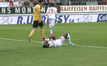 FC Sion: battus pour la troisième fois d'affilée dimanche, les Rouge et Blanc n'avancent plus