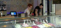 Zoom sur la Gelateria Patella à Martigny et les glaces artisanales de Marielle et Giuseppe
