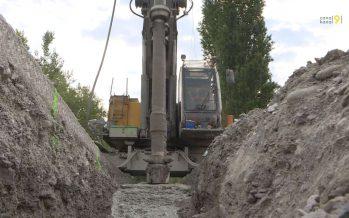 Sécurisation des digues du Rhône: les travaux avancent du côté d'Aproz et Viège
