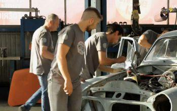 «Omvandlar Kassan»: cinq jours pour rénover une Volvo 121 (épisode 1 sur 5)