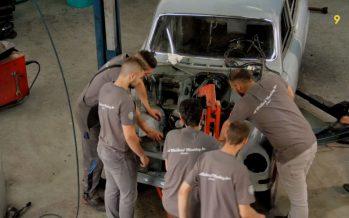 «Omvandlar Kassan»: cinq jours pour rénover une Volvo 121 (épisode 2 sur 5)