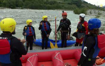 Zoom sur le rafting sur le Rhône. En été, le fleuve valaisan permet des sensations fortes!