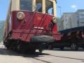 Martigny-Châtelard: des automotrices en fête