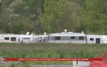 Le Conseil d'Etat valaisan rejette les propositions de Berne concernant l'asile