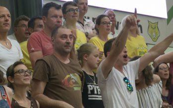 Basketball : victoire du BBC Monthey face aux Lions de Genève pour le 5e acte