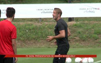 FC Sion: nouvelle recrue et camp d'entraînement