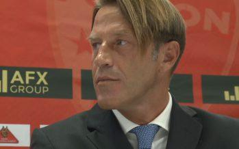 FC Sion: l'entraîneur Paolo Tramezzani présenté officiellement, l'attaquant Marco Schneuwly a signé pour deux ans