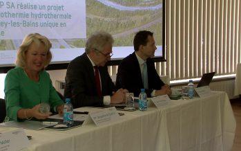 Lavey-les-Bains fait un pas de plus vers la concrétisation de son projet de géothermie
