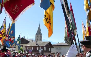 Fanfare : 100 ans pour la Rose des Alpes de Savièse