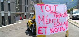 Factures impayées: Batiko et le syndicat Unia montrent du doigt Ecobois Constructions