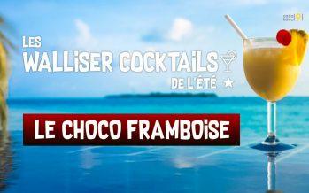 Les Walliser cocktails de l'été: La Choco Framboise (2/8)