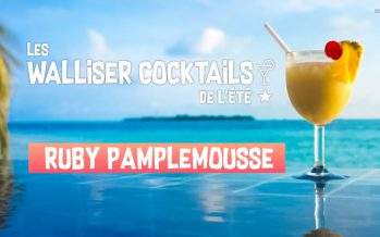 Le Walliser Cocktail de l'été: Le Ruby Pamplemousse (5/8)