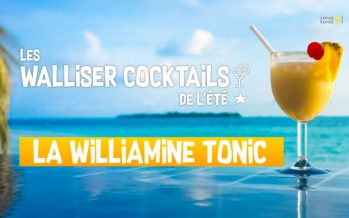 Les Walliser cocktails de l'été: La Williamine Tonic (1/8)