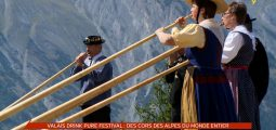 Valais Drink Pure Festival: des cors des Alpes du monde entier à Nendaz