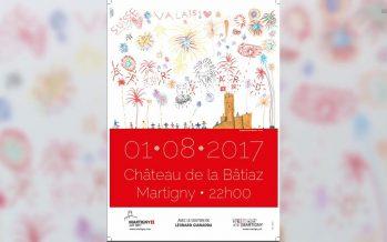 Feux du 1er août: Martigny rend hommage à Bernard Dirren avec une affiche particulière