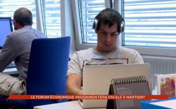 Le Forum économique rhodanien fera escale à Martigny le 15 septembre 2017
