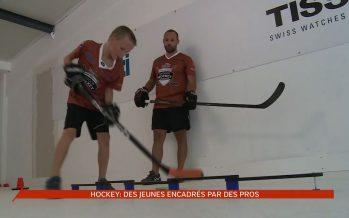 Tissot Academy à Martigny: des jeunes hockeyeurs encadrés par des pros