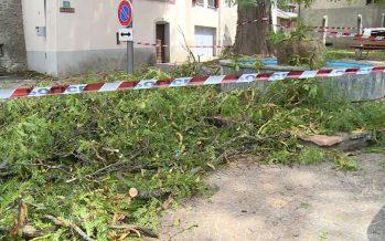 L'orage qui a traversé la Suisse dimanche à fait des dégâts et occupé de nombreux sapeurs-pompiers, en Valais aussi