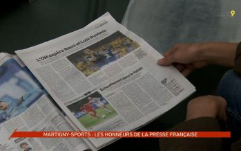 Le Martigny-Sports a défendu les couleurs valaisannes contre l'Olympique de Marseille