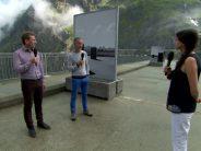 Exposition au barrage de Mauvoisin: carte blanche donnée à l'artiste Claudio Moser