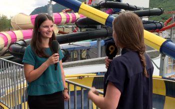 Aquaparc: environ 1200 visiteurs par jour viennent s'amuser dans les toboggans en été