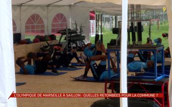 L'Olympique de Marseille à Saillon: retombées intéressantes pour la commune en terme d'images
