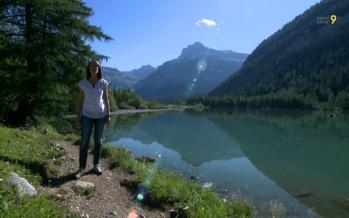 Lac de Derborence: un décor naturel préservé (06.07.2017)
