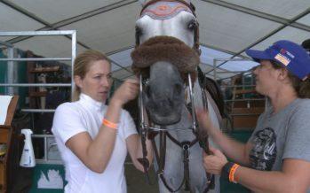 Jumping International de Verbier: rencontre avec la cavalière fribourgeoise Christina Liebherr