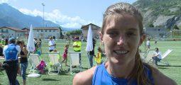 La Vaudoise Lea Sprunger, 5e mondiale du 400 m haies aux Mondiaux de Londres, était à Vétroz