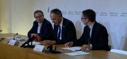 Darbellay, Favre, Schmidt: les trois conseillers d'Etat valaisans font le bilan de leurs 100 jours