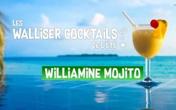 Le Walliser Cocktail de l'été: Le Williamine Mojito (7/8)