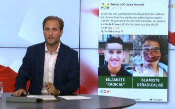 «Déradicaliser l'islamisme»: les propos des Jeunes UDC du Valais romand sur Facebook choquent