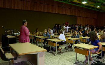L'heure de la rentrée scolaire a sonné en Valais (17.08.2017)