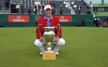 Golf: l'Anglais Matthew Fitzpatrick remporte le 71e European Masters de golf à Crans-Montana au bout du suspense