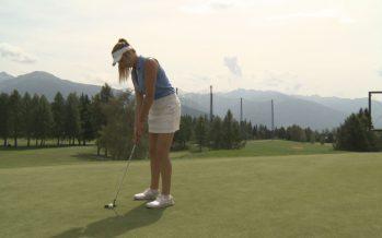 Golf: Azelia Meichtry revient à la compétition après une longue pause due à des douleurs dorsales