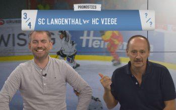 Les Pronostics: notre journaliste sportif Désiré Coppex affronte le directeur général du HC Viège Sébastien Pico