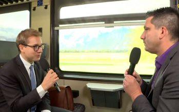 «On a trois excellents candidats pour la succession de Didier Burkhalter», dit le conseiller national PLR Philippe Nantermod