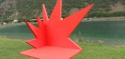 La 4e Triennale d'art contemporain va à la rencontre du public, par exemple au relais autoroutier du Saint-Bernard